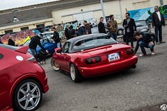 Mazda Mx-5 na (N.D pictures) Tags: car st japan market low domestic crew meet jdm stance japenese nazaire vjs rasso
