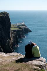 Neist Point Lighthouse (Ian_Boys) Tags: lighthouse skye love point scotland couple fuji isleofskye fujifilm neist 2016 xt1 neistpoint 50140mm
