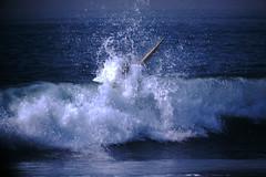 12-1969- Redondo Surf (19) (foundslides) Tags: redondobeach ca calif california analog slide slides irmalouiserudd johnhrudd foundslides kodachrome kodak vintage surfer surfers surfing breakers wave waves sports water ocean sea seasid 1969 1960s transparencies rudd irma wetsuit wet december socal southbaycameraclub south bay southbay usa surfboard