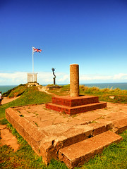 Capstone Torr, Ilfracombe, North Devon (photphobia) Tags: uk sky holiday seaside outdoor hill victorian bluesky ilfracombe northdevon oldwivestale victorianresort capstonehill capstonetorr
