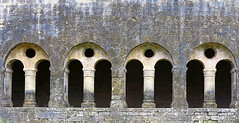Cloister arches, L'abbaye du Thoronet, Var, Provence (Hunky Punk) Tags: lethoronet var france cloister arches architecture medieval gothic romanesque church abbey cistercian abbaye