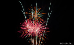 Aerial ecstasy (PerfumeG2011 (off & on). Slowly trying to catch up) Tags: longexposure sky canada art beautiful nikon colours nightshot montreal firework millenniumpark pyrotechnics 2016 ftenationale fireart firerworks d7000 nikond7000 dorvalqubec