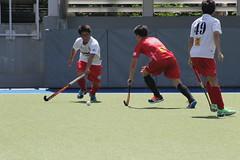 Un dimanche  Hong Kong_1_IMG_0150 (Hlne (HLB)) Tags: playing green hockey boys sport hongkong play sunday jouer garons