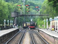 DSCF0911 (SierPinskiA) Tags: diesel pickering steamlocomotive grosmont northyorkshiremoorsrailway diesellocomotive preservationrailways fujixs1