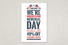 Memorial Day Sale Flyer (inkdphotos) Tags: blue red texture flyer sale flag grunge americanflag patriotic event 4thofjuly independenceday distressed template starsandstripes laborday memorialday veteransday mixedtype