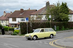 A Triumph for the Estate (Lady Wulfrun) Tags: nottingham yellow estate pale triumph 1968 nottinghamshire notts awsworth frn4f
