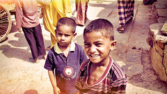 IMG_0790_edit #Flickr12Days (nischal.masand) Tags: city travel people india beautiful smile kids happy earth faith glad innocence childsplay chandigarh slums discover flickr12days