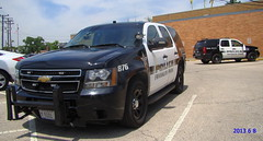 Franklin Pk. Police #876 (Chicago Rail Head) Tags: chevy policecar suv patrolcar