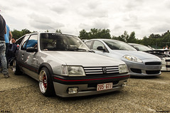 Boss Statement (funyboyke) Tags: boss cars belgium automotive statement gti peugeot 205 stance fitment