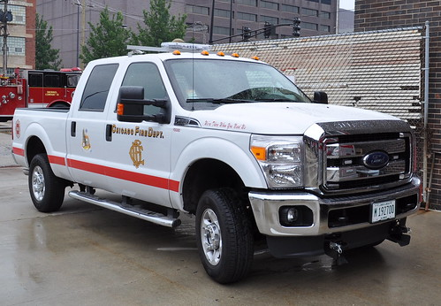 Chicago Fire Dept. Pickup Truck