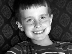 Boy in B&W (Murdock's Photography) Tags: lens olympus 18 75mm