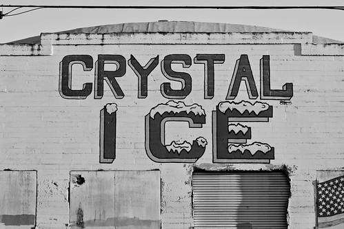 Crystal Ice B&W