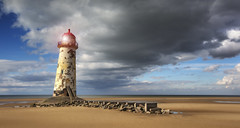 Point of Ayr Lighthouse (Kristian Bell) Tags: uk lighthouse seascape beach wales canon point landscape bell dunes kris ayr kristian talacre 2013