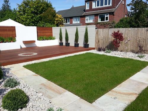 Landscaping Wilmslow Modern Garden Image 1