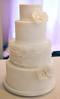 Binh ~ Ruffle Wedding Cake (Sweet Pudgy Panda) Tags: flowers wedding white cake ruffles pretty fondant tiered englishrose maggieaustin sweetpudgypanda