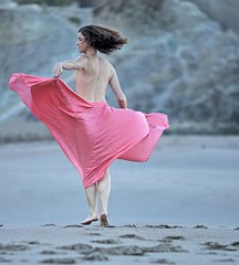 The Flying Ballerina (Flick'gAbility) Tags: sanfrancisco iso100 f20 modelshoot canonef135mmf2lusm candacenirvana 11250second