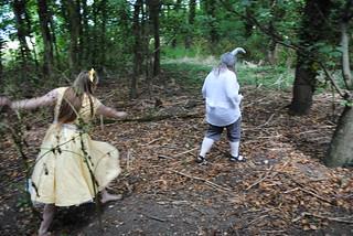 Alice Chasing the White Rabbit