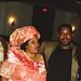 Chief Stephen Osita Osadebe (RIP) from Nigeria Hosted by  Equator Club Philadelphia Fouzia from Somalia with Nigerian People 1997 175 Fouzia & Friday