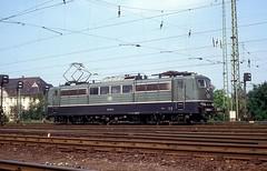 151 074  Bw Seelze  03.08.91 (w. + h. brutzer) Tags: analog deutschland nikon eisenbahn railway zug 151 seelze webru