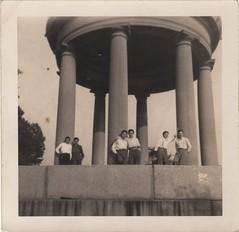 where the boys meet (lydiafairy) Tags: italy cute love vintage found flirt couples vernacular column foundphoto vintagephoto vintagelove