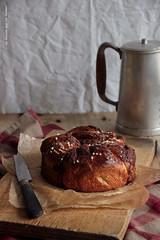 brioche012 (la cerise sur le gteau) Tags: food cooking coffee breakfast bread photography baking chocolate tasty delicious patisserie pastry brunch swirl nutella brioche kringle