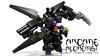 ARCANE ALCHEMiST (clmntin.E) Tags: digital toy robot lego designer military hard suit fairy claw celtic mecha povray alchemist arcane ldd gaunlet