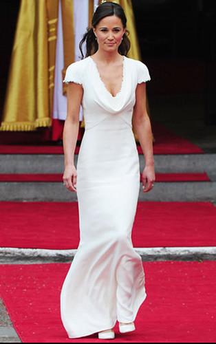 Pippa Middleton das Mädchen für Ehre Brautkleider