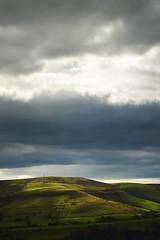 The light dances (Billy Clapham) Tags: park autumn light green nature lady landscape hope hand dancing walk district derbyshire peak hills national valley fields held bower resevoir nikond3200 1855mmvrlens billyclapham vision:mountain=062