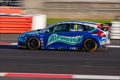 Tom Onslow-Cole #6 - Airwaves Racing (Ian Garfield - thanks for over 1 Million views!!!!) Tags: cars ford sports car sport tom ian photography championship focus racing silverstone british garfield touring motorsport btcc dunlop airwaves msa 2013 motorbase onslowcole