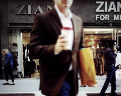 Zia Zia for Me (shooting all the buildings in Manhattan) Tags: street people newyork manhattan broadway iphone 2013