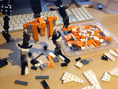 Mech Progress (Brickmasta) Tags: lego mecha mech moc afol
