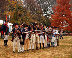 1776 Battle of Fort Washington Reenactment Commemoration, Fort Tryon Park, Manhattan, New York City (jag9889) Tags: park city nyc costumes camp people ny newyork art history festival freedom manhattan performance craft battle demonstration event retreat artists revolution soldiers revolutionarywar americanrevolution independence reenactment troops 1776 weapons drill firing brigade washingtonheights forttryon fortwashington forttryonpark commemoration nycparks wahi 2013 continentalarmy battleoffortwashington jag9889 forttryonparktrust 237thanniversary 11172013 troopformation