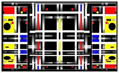 A Way In (Joe Vance aka oliver.odd) Tags: portrait abstract colour art beauty design chaos space ideas blades stickybeak hypotheticalawards