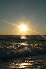 Крым, пляж у посёлка Любимовка, Севастополь