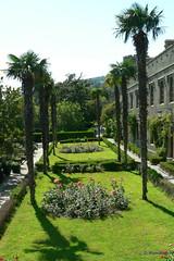 Воронцовский дворец, Алупка, Южные террасы