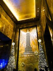Empire State Christmas (StefoF) Tags: nyc newyorkcity usa ny newyork state empire kingkong empirestatebuilding