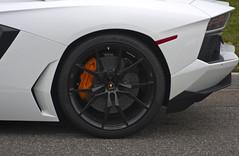 Lamborghini Aventador (Rolla89) Tags: orange white ny black canon ceramic toys island long december tech 21 overcast ferrari 25 tots carbon lamborghini 8th app maserati toys4tots plainview 355 pirrelli pzero 2013 40d aventador lp700