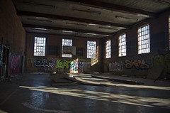 Gym time (Fob Rord) Tags: abandoned ex graffiti exploration gym urbanexploring urbex looter