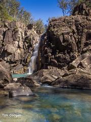 Heritage Falls (Tim Cooper) Tags: cliff water river rocks long exposure australia falls cascades nd tasmania douglas