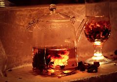 Glass Teapot (mikbahai) Tags: christmas glass night bavaria teapot bazaar augsburg