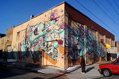 The Weird Burger Special (drew*in*chicago) Tags: street streetart art graffiti mural paint artist cityscape detroit can tourist spray easternmarket krylon nychos ironlak montanacolors theweird