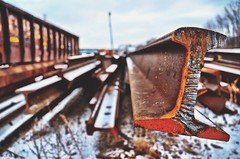 Remnants of an industrial yard (JayCass84) Tags: camera winter urban snow beautiful metal photography photo nikon rust flickr industrial pittsburgh pennsylvania steel awesome grime flick pgh urbanphotography 412 burgh industrialization steelcity industrialyard d5100 instagram instagramapp nikond5100
