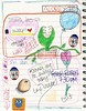 January 23 & 24 (trishsworld) Tags: roses art calendar drawing diary stickers january doodles schedule planner 2014 datebook