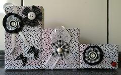 Porta treco feito de caixas de leite! (Cantinho do Patch by Talissa) Tags: portatreco caixadeleite