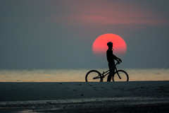 biker (ARZTSAMUI) Tags: boy sunset sky sun man male nature bike bicycle wheel silhouette sport youth speed sunrise outdoors cycling bmx exercise natural extreme land biker activity workout trial extremesport flatland actively