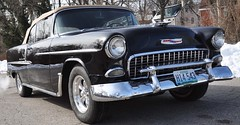 """1955 Chevy Bel-Air Convertible • <a style=""""font-size:0.8em;"""" href=""""http://www.flickr.com/photos/85572005@N00/12443213795/"""" target=""""_blank"""">View on Flickr</a>"""