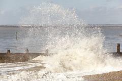 The Witterings - 13 (Paul Dykes) Tags: uk sea england water coast droplets seaside waves westsussex spray coastal groyne westwittering easthead thewitterings