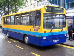 080703-082021 (Midland Rider 1017-KDZ5805) (Bus Buster UK) Tags: street city travel west birmingham centre 7 bull route upper service wright dennis standard fleet 805 limited rider ltd dart midland 1017 midlands twm livery wmt kdz5805