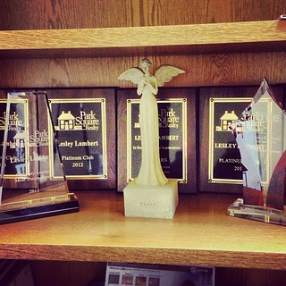 Organized my awards today :)