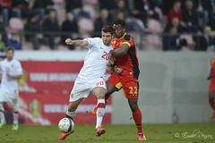 Uros Vitas and Michy Batshuayi (EmilieRenson) Tags: sports leuven football belgium soccer battle under21 sportphotography